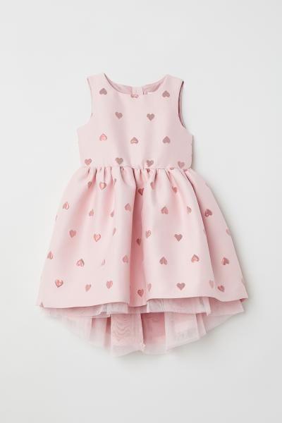 3e5fb6438 Jacquard-weave Dress | moda niña | Trajes de niñas bebés, Moda para ...