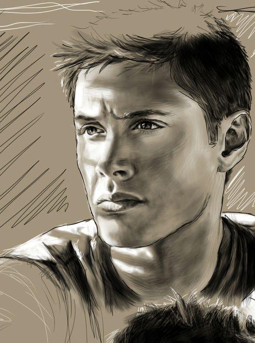 Jensen fan art by tofiepie