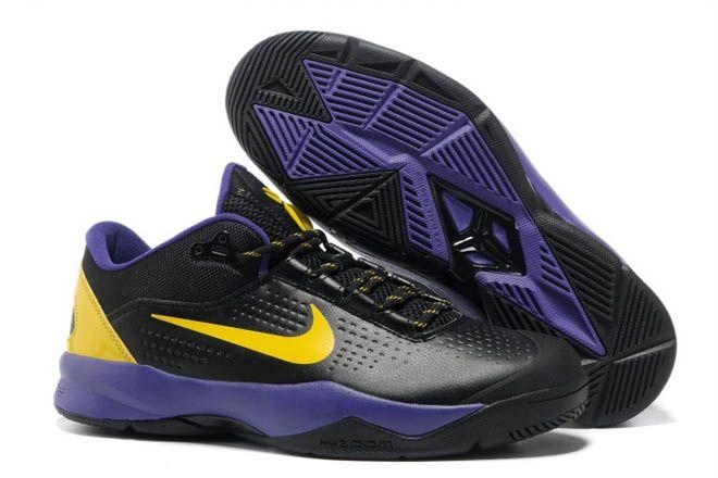 ede76cdbc7b1 Kobe Bryant Venomenon 3 III Running Shoes Black - Purple - Yellow Men Size
