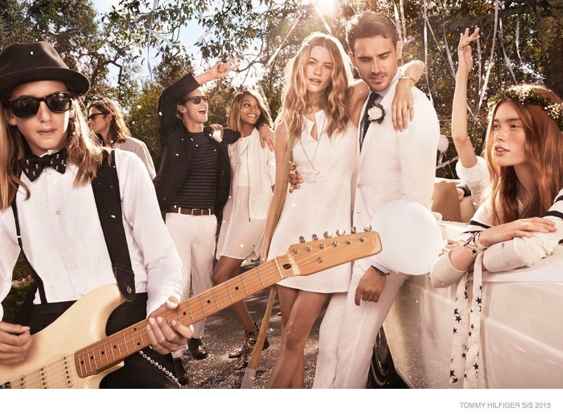 Tommy Hilfiger SS 2015 campaign