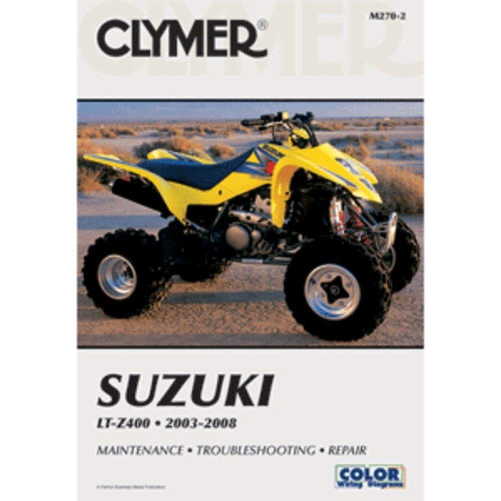 Clymer Service & Repair Manual for Suzuki