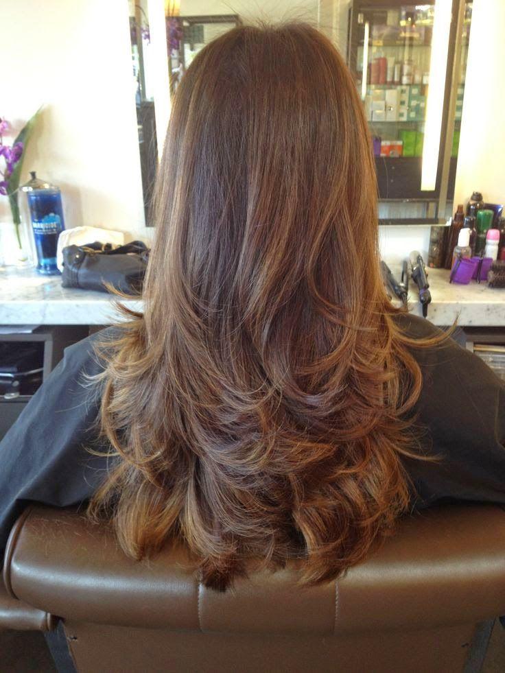 Model Rambut Layer Potongan Rambut Panjang Rambut Baru Dan