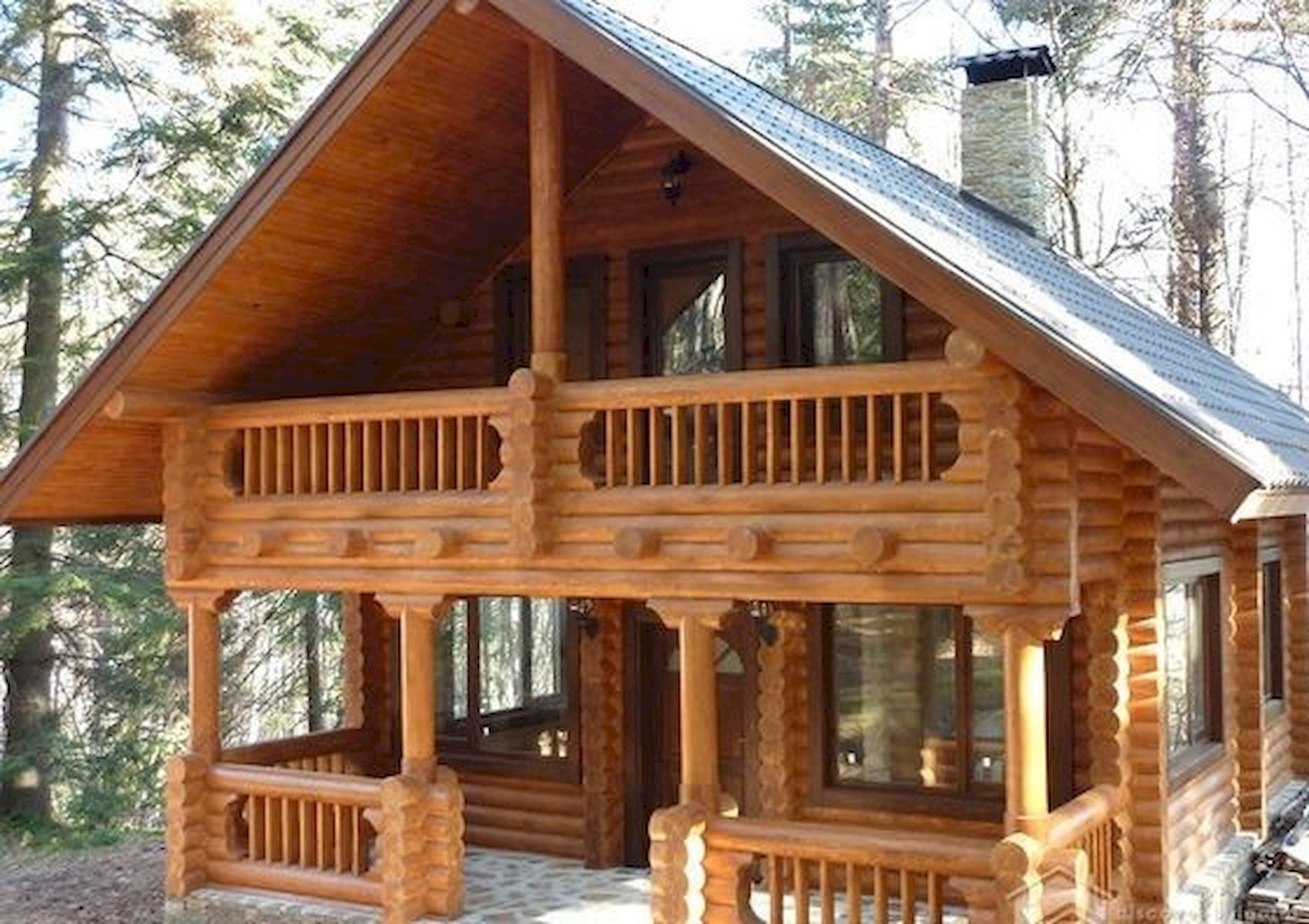 75 Best Log Cabin Homes Plans Design Ideas #logcabinhomes