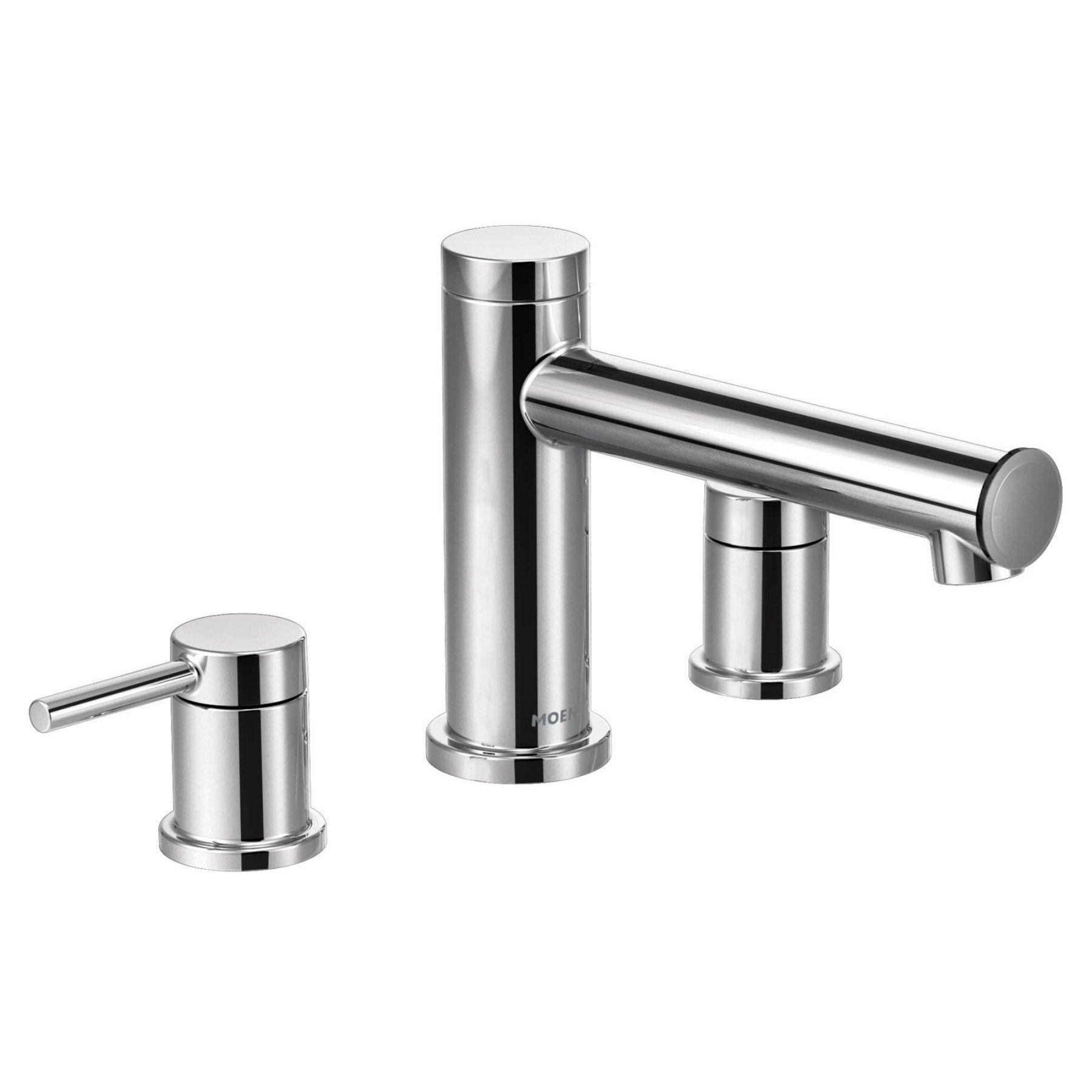 Moen Align Chrome Two Handle Non Diverter Roman Tub Faucet