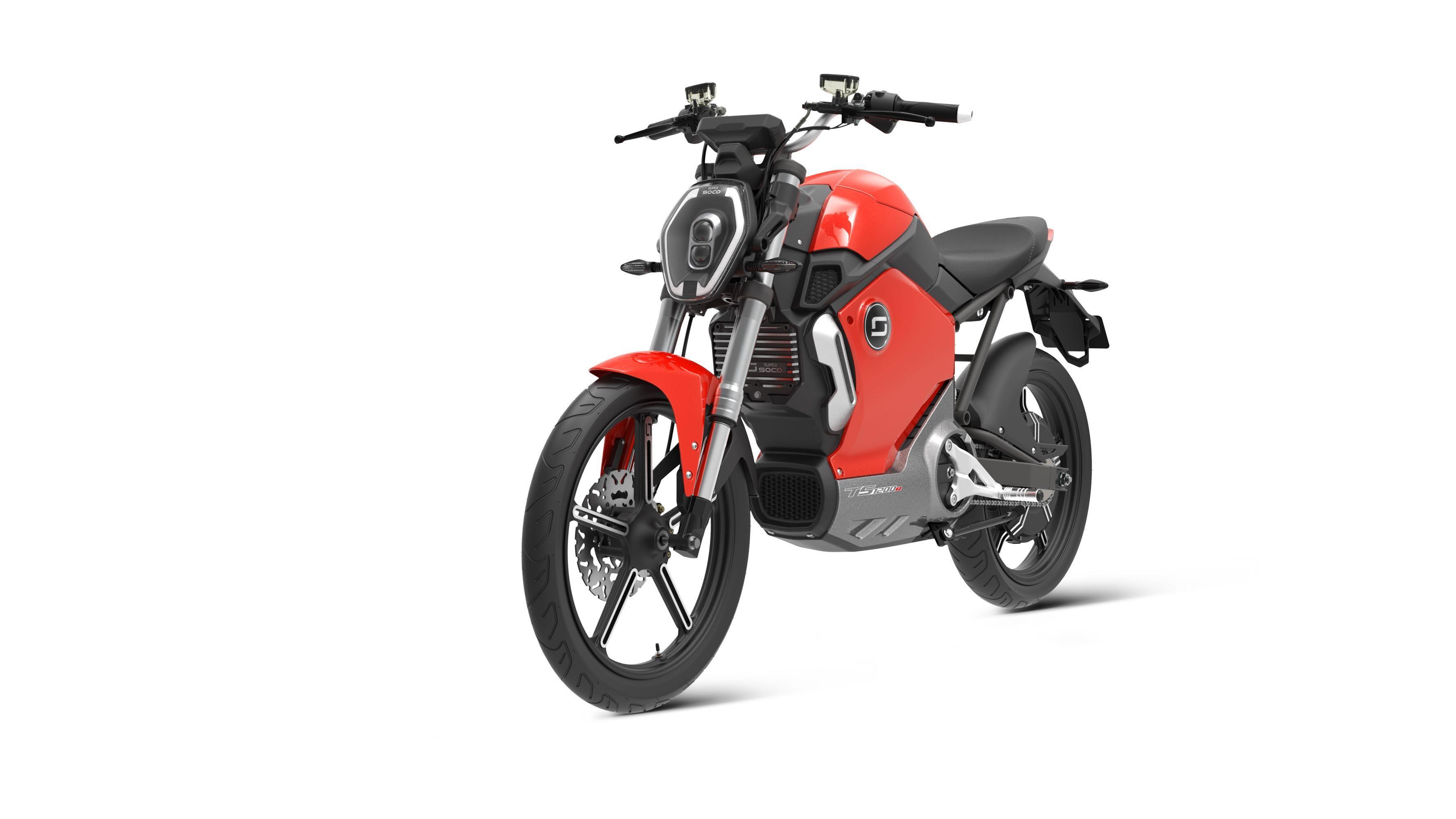 Super Soco Tc Moto Electrique - Ultimo Coche