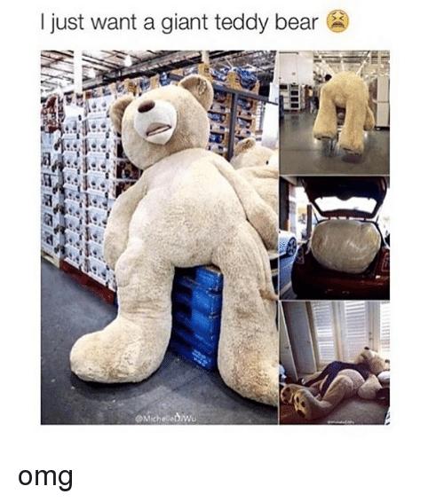 Omg Bear And Bears I Just Want A Giant Teddy Bear Omg Huge