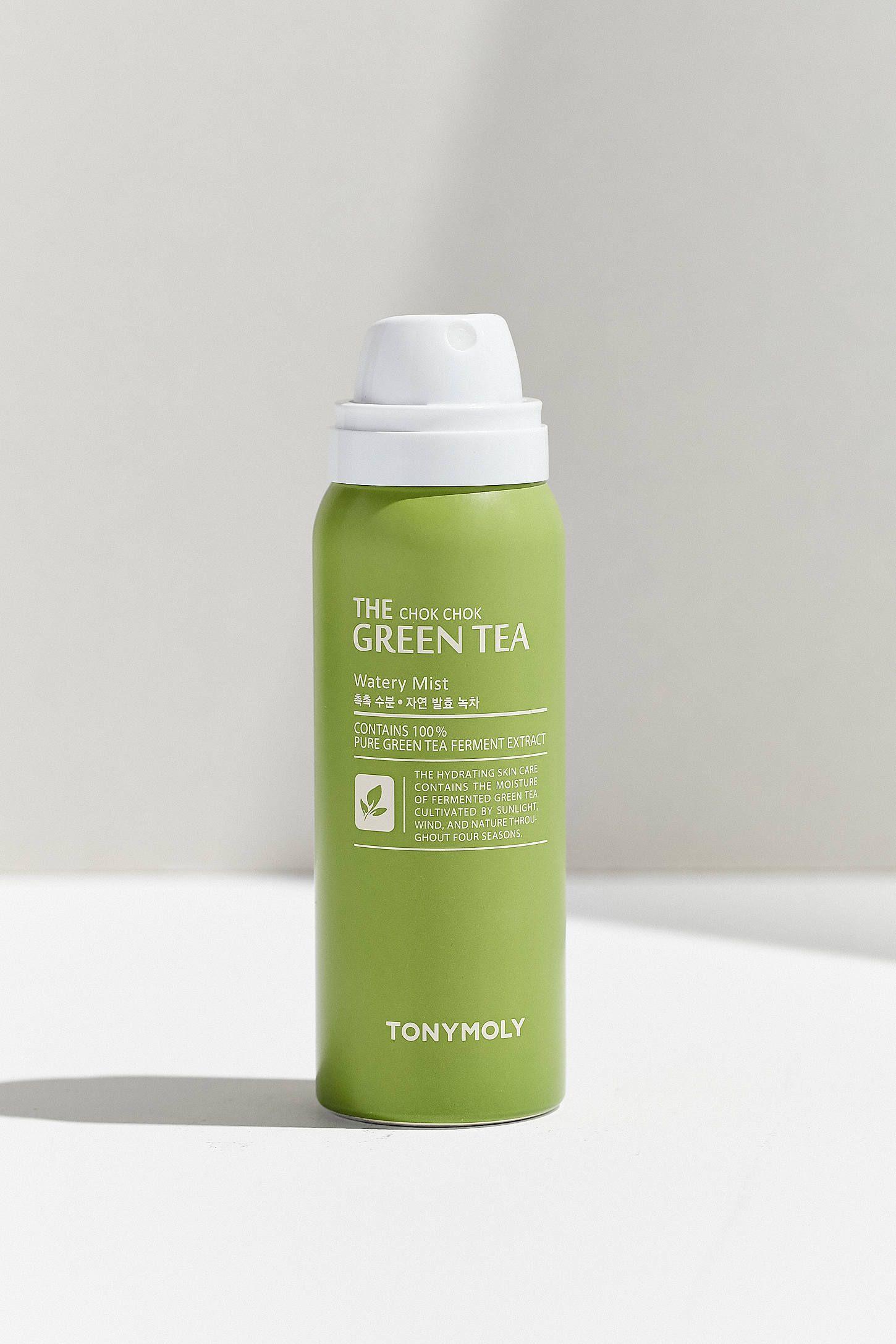 Tonymoly The Chok Chok Green Tea Watery Mist Green Tea Skin Care Green Tea Face Tony Moly