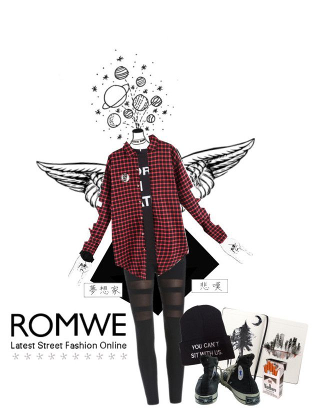 """New Romwe Contest"" by bymila ❤ liked on Polyvore featuring Topshop, Wet Seal, adidas Originals, Charlotte Russe and Converse"