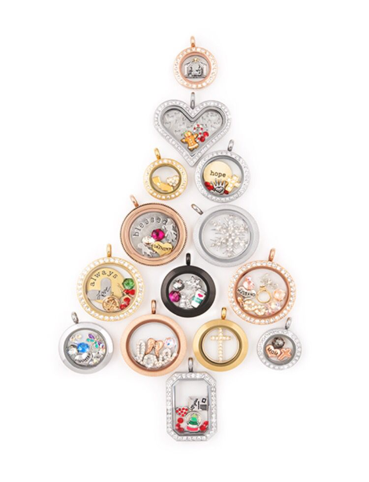 Origami Owl Lockets By Cindy B ~ Holiday on Pinterest ... - photo#32