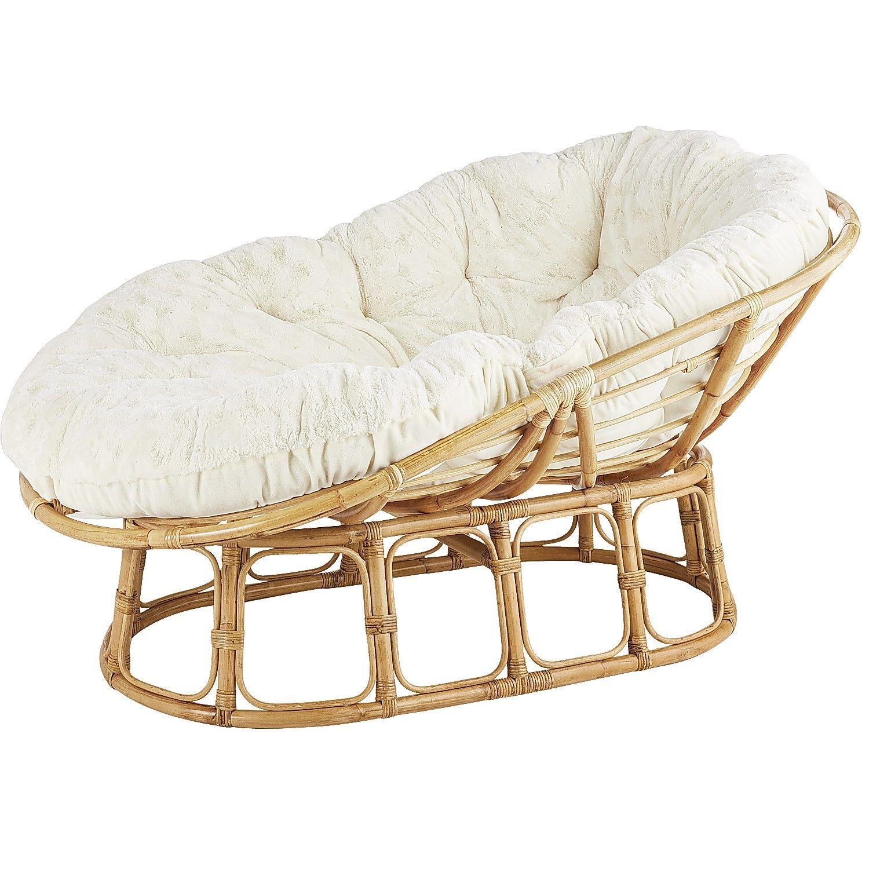 Loungeasan Natural Rattan Arm Chairs Recliners