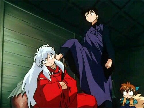 Love that.  *giggle*  He always puts Inuyasha in his place.  :)