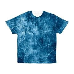 Artistic abstract crack marble grungy Men's All Ov