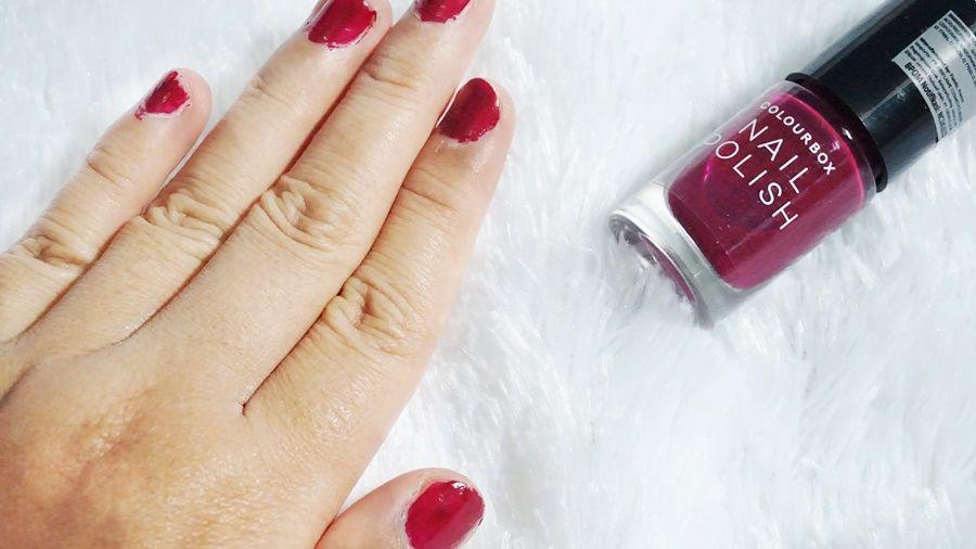 Oriflame Cosmetics Colourbox Nail Polish