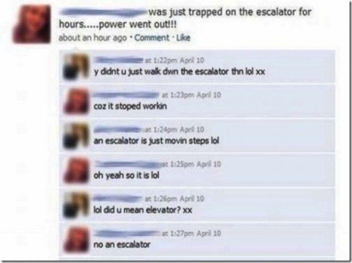 Escalator: Life OR Death?