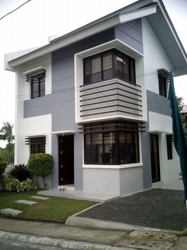 Simple Duplex House Design In Philippines: These Houses, 2 Storey, Duplex Or Townhouses, Or Sing