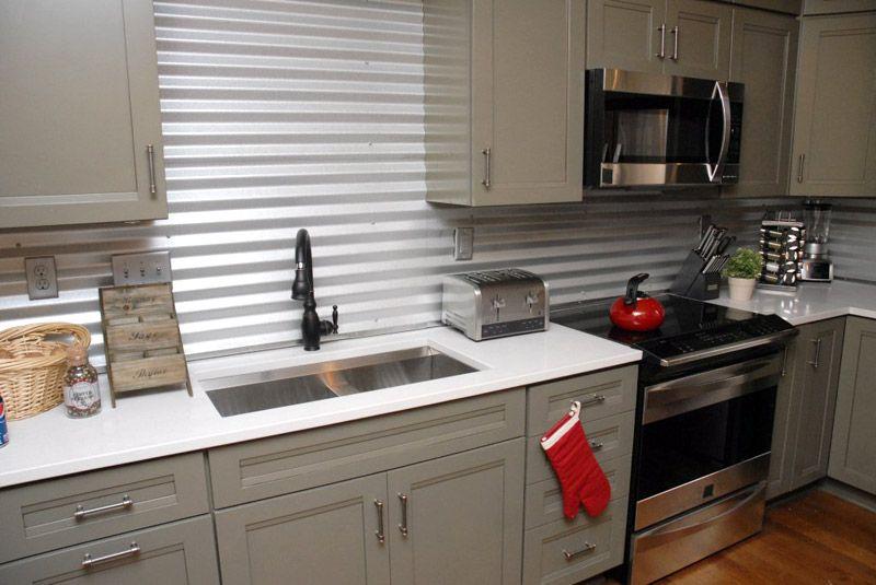 1000+ images about Kitchen Backsplash Splash! on Pinterest | Kitchen  backsplash design, Tile - Metal Kitchen Backsplash Roselawnlutheran