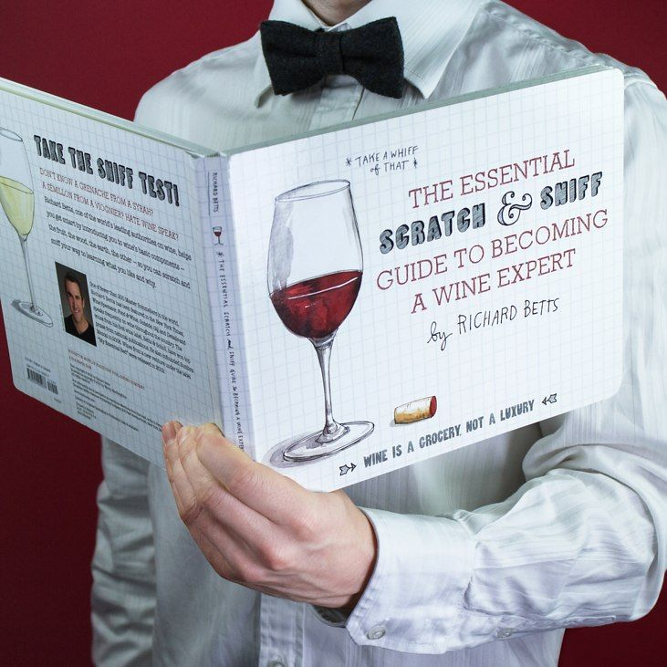 Let's kick off with a wow factor: Richard Betts is one of fewer than two hundred master sommeliers in the world. Yes, you heard right. What's more, he's written a book called The Essential Scratch and Sniff Guide to Becoming a Wine Expert that's going to fill you with a myriad of wine knowledge. Huzzah!