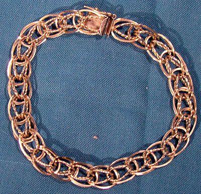 Vintage Forstner 10k Gold Charm Bracelet By Fionakennyantiques 550 00