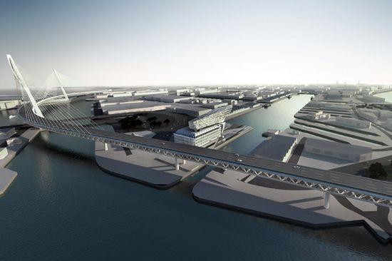 antwerp port authority headquarters by zaha hadid architects