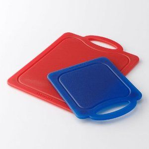 Cuisinart Set of 2 Poly Cutting Boards - Kitchen Choice by Cuisinart. $18.99