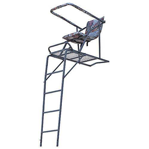 Hunting Guide Gear 17 Extreme Comfort Ladder Tree Stand Visit The Ladder Tree Stands Tree Stand Hunting Tree Stand