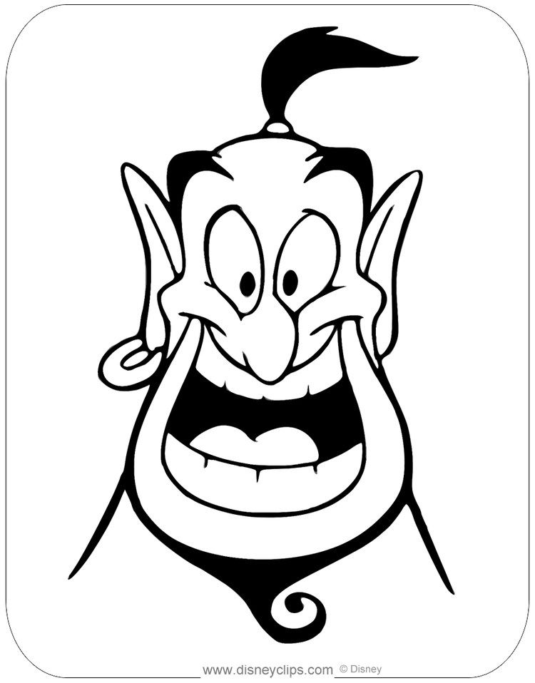 Free Aladdin Coloring Pages For Kids In 2020 Cartoon Drawings Disney Drawings Disney Art Drawings