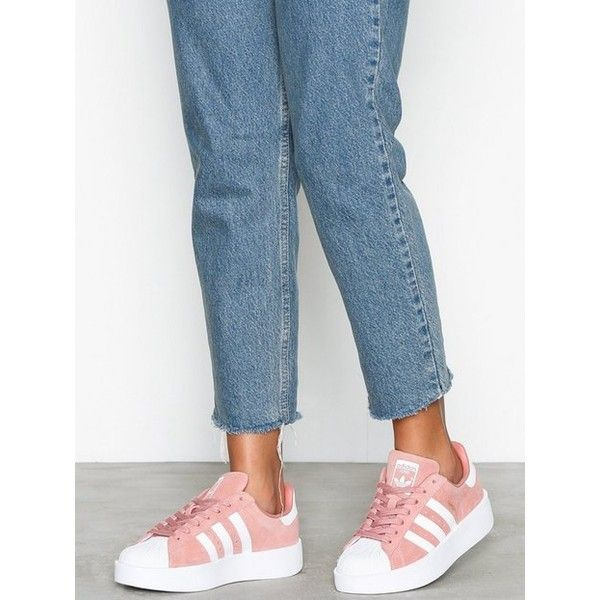 Adidas Originals Superstar Bold leather sneakers cow leather
