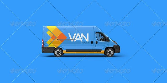29 best van mockup psd for delivery vans branding