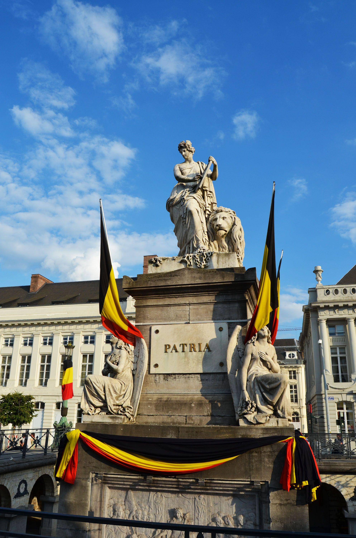 Place des Martyrs, Bruselas, Bélgica