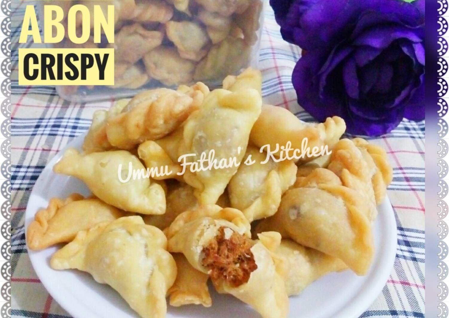 Resep Pastel Abon Mini Crispy Oleh Ummu Fathan S Kitchen Resep Makanan Cemilan Adonan
