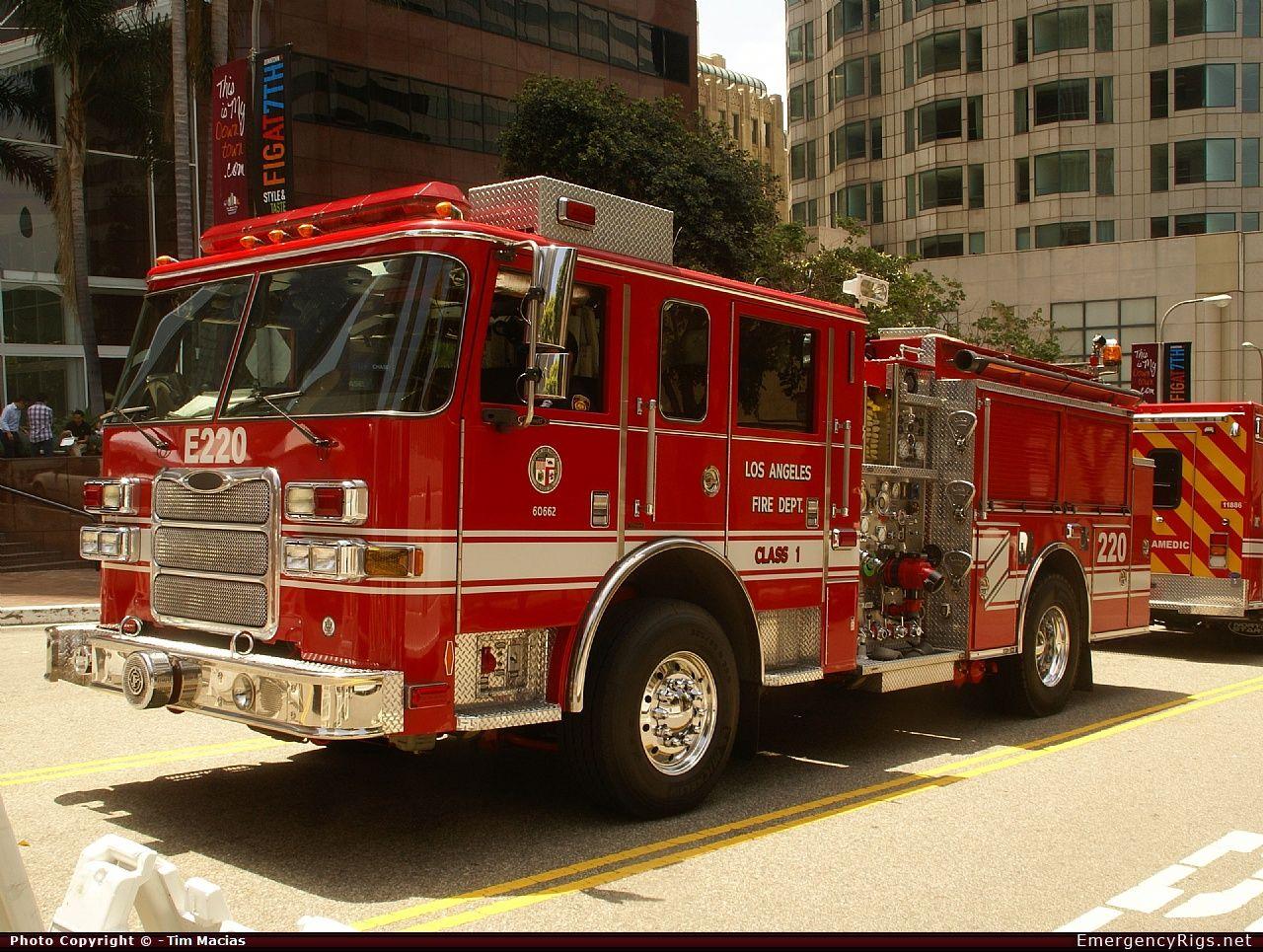Pierce Arrow Xt Command Los Angeles Fire Department Emergency