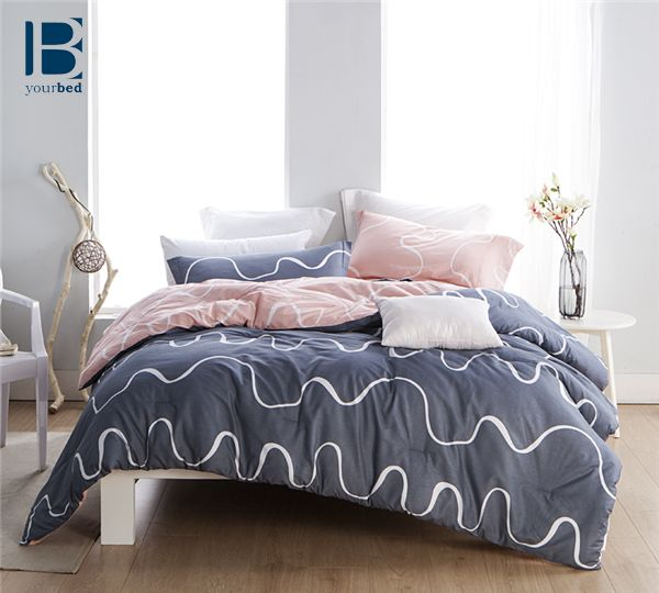 Sometimes Simple And Cute Decor For Your Bedroom Is The Way To Go With The Byb Curious Comforter Your Ro Dorm Room Comforters Dorm Room Bedding Dorm Bedding