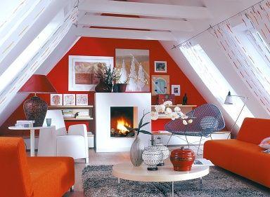 Räume mit Dachschrägen - die besten Wohntipps: Mit Möbeln ...