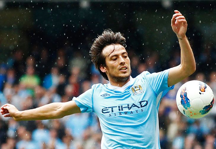 Soccer - David Silva, one of my favorite players.
