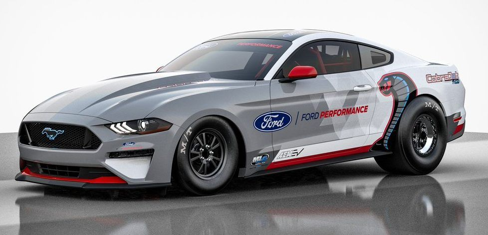 Ford S Tesla Roadster Rivaling Electric Mustang Drag Racer Shows