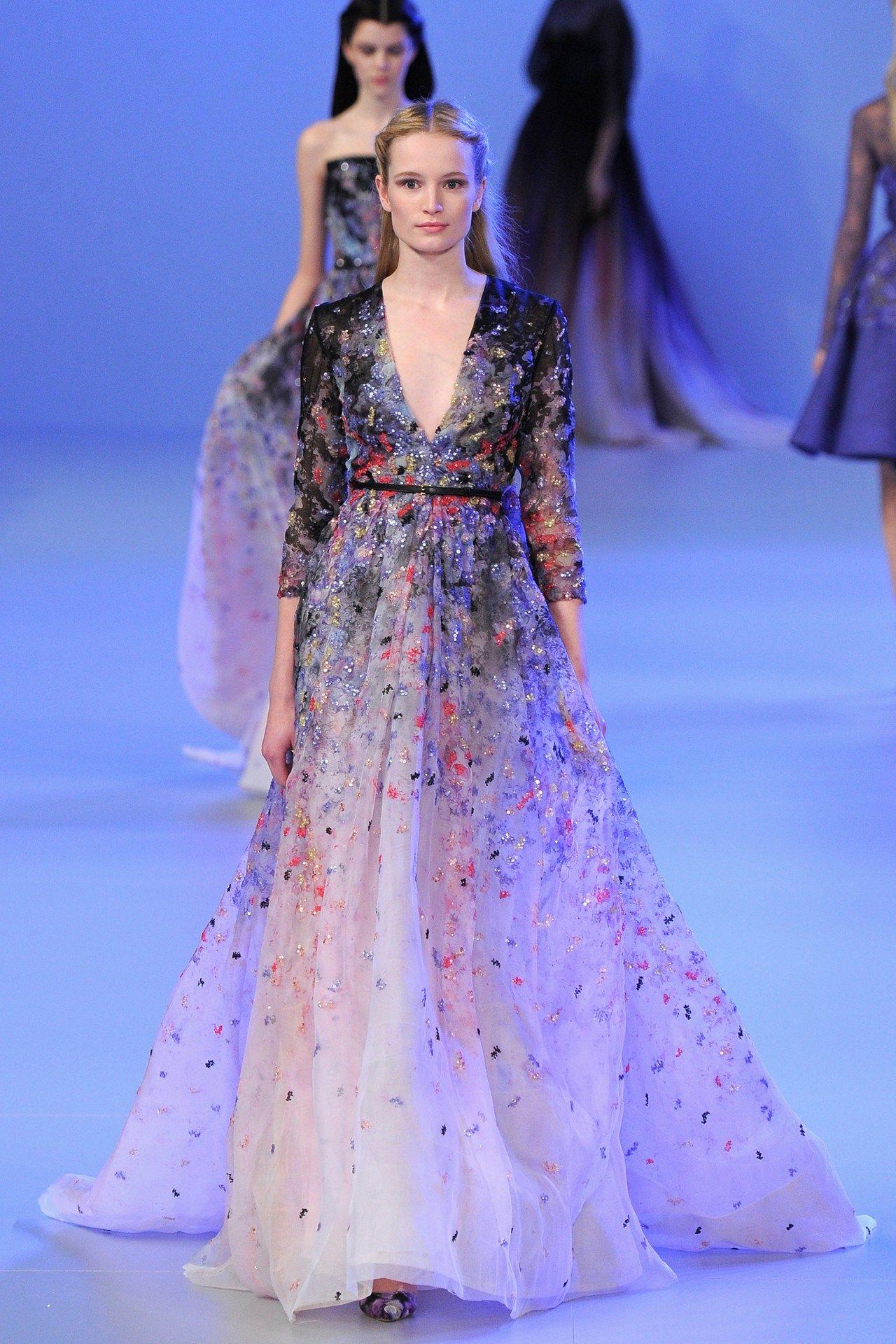 Elie Saab Spring/Summer 2014 Couture | Vestidos damas de honor, Alta ...