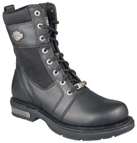 884b6c6ab82 Harley Davidson 'Baldwin' Motorcycle Boots Mens - Black $89.99 ...