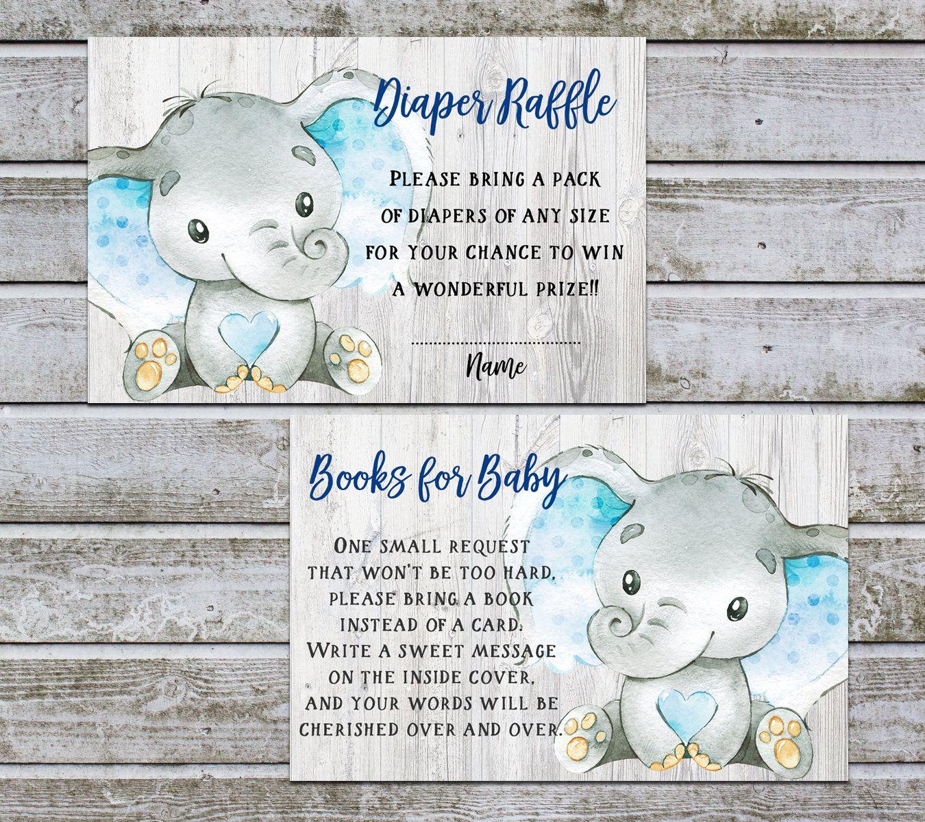 Bring a book instead of a card book request diaper