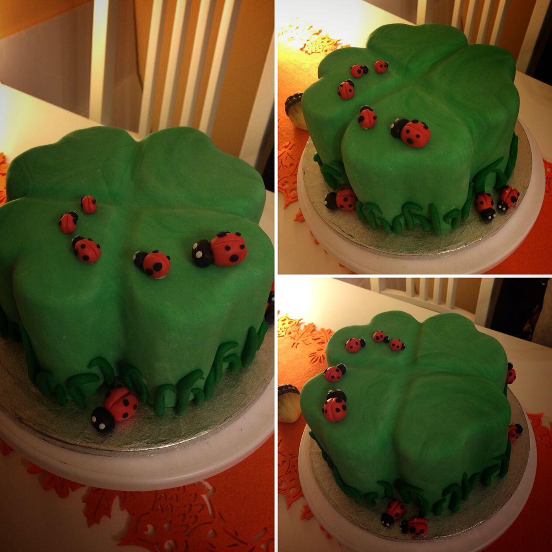 Kleeblatt Torte Baking Pinterest Fondant Und Baking