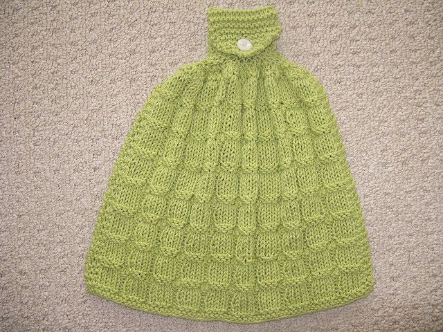 Ravelry: Kitchen Towel pattern by Dishcloth Boutique ...