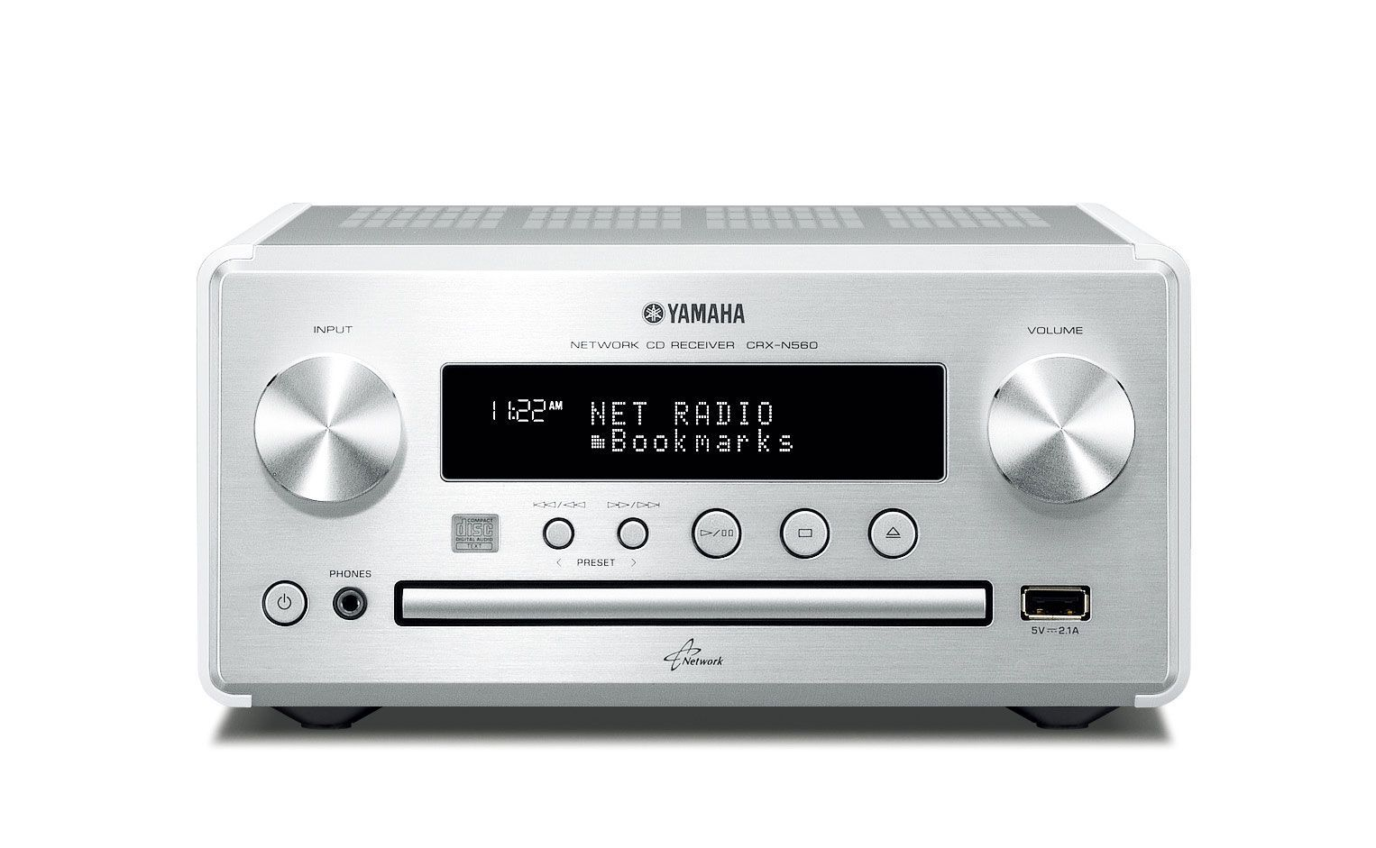 Yamaha CRX-N560 Silver  Network player | A/V | Yamaha audio