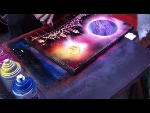 Amazing Spray Paint Art - NewYork City - Like & Share - YouTube ...