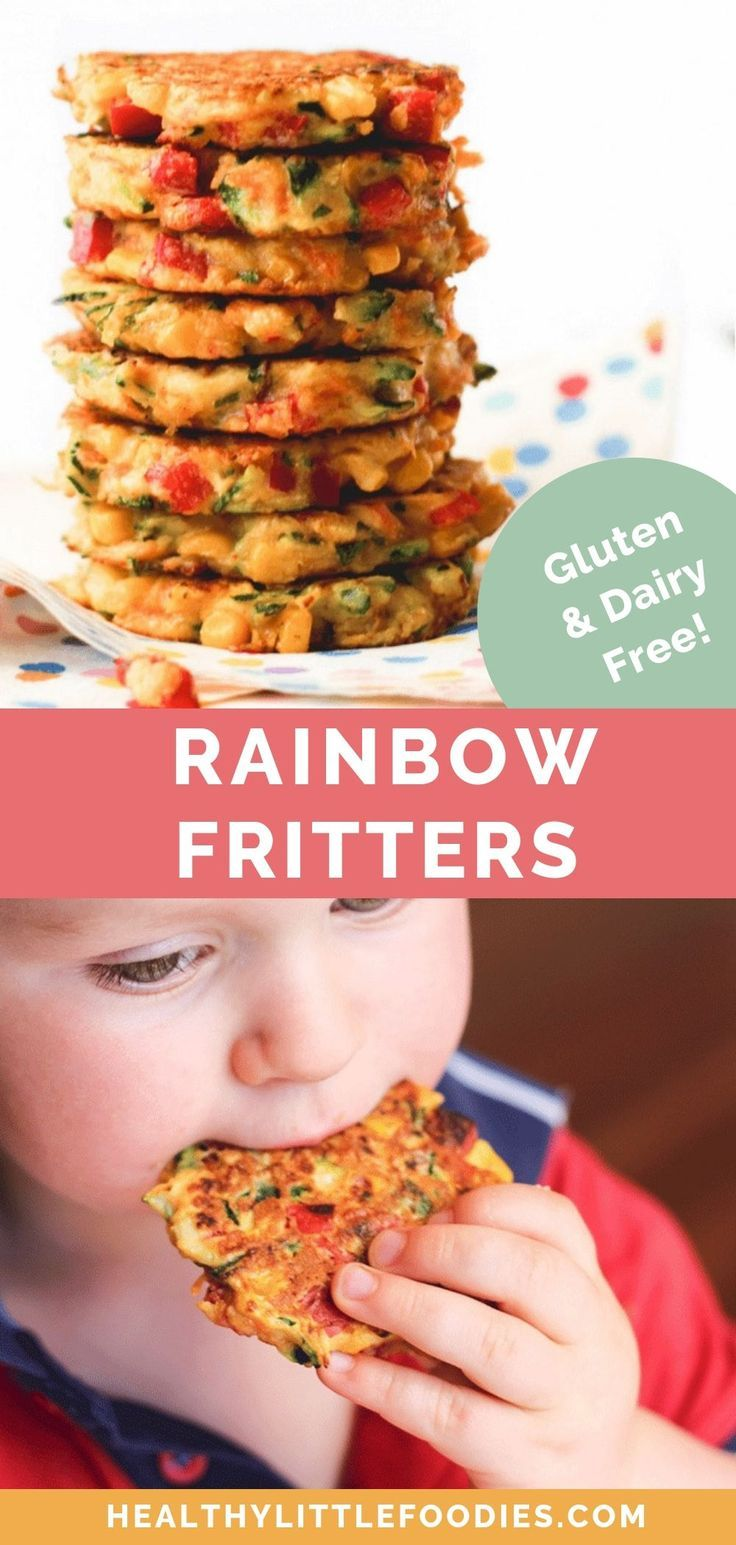 Vegetable Fritters - Healthy Little Foodies