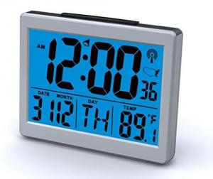 Atomic Desk/bedroom Alarm Clock-1.5\