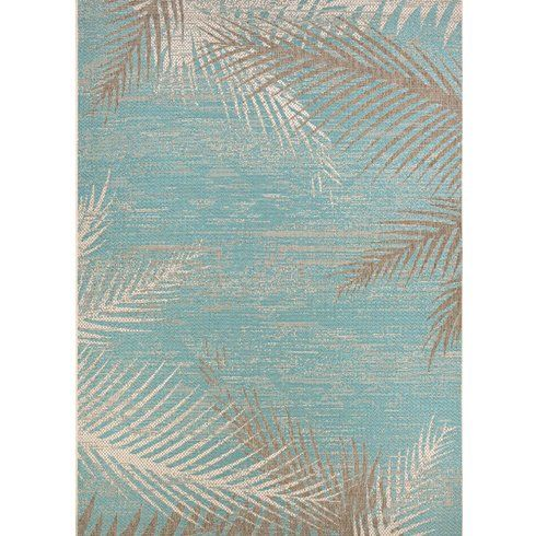 Main Image Zoomed Aqua Rug Indoor Outdoor Area Rugs