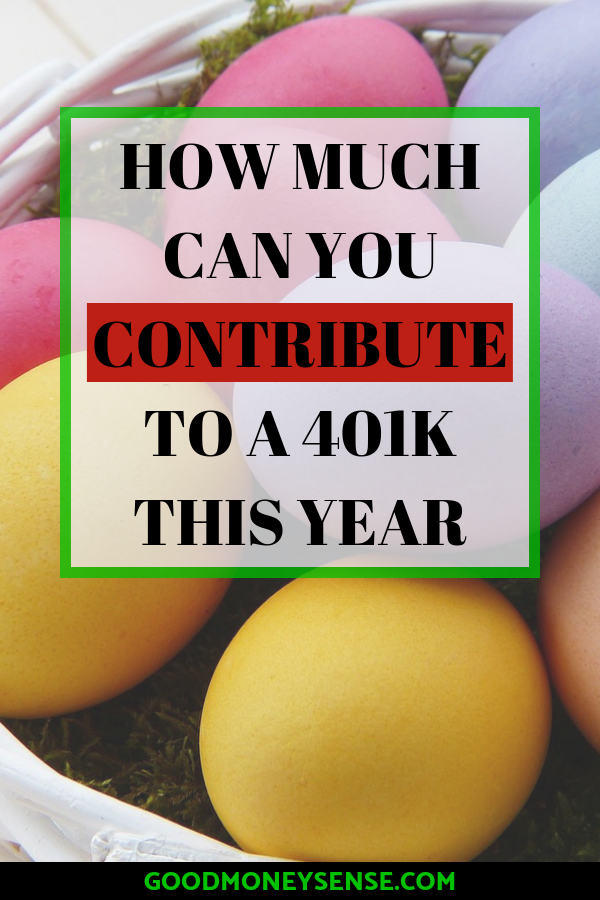 401k Contribution Limits for 2019