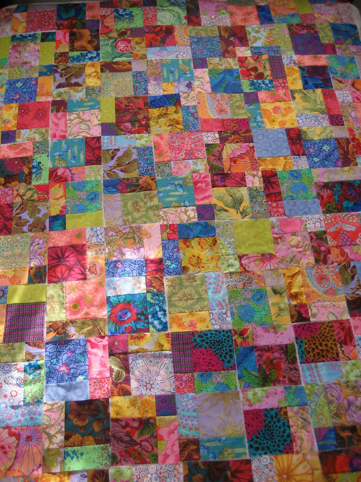 Big Block Quilt Patterns Have Been Working On This