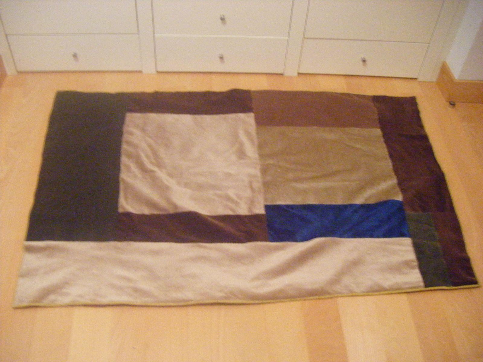 manta reciclando telas