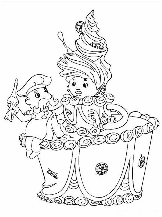 Printable Coloring Pages For Kids The Sandman And The Lost Sand Of Dreams 5