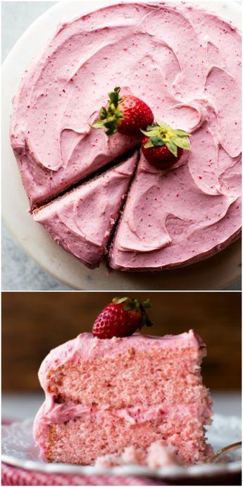 Homemade Strawberry Cake | Sally's Baking Addictio